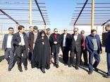 بازدیداستاندار قزوین از عملیات اجرایی یک واحد گلخانه در شهرستان آبیک