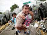 ادامه حرکت پناهجویان هندوراسی به سمت آمریکا