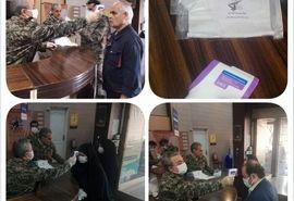رزمایش پدافند زیستی مقابله با کرونا در سازمان جهادکشاورزی استان تهران برگزار شد