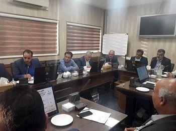 احداث شبکه آبیاری در اراضی پایاب سد سلمان فارسی بررسی شد