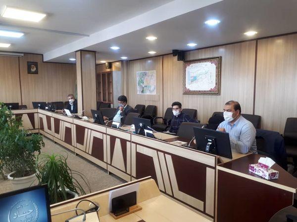جلسه هماهنگی زیر پروژه تهیه نقشه کاشت شبکه آبیاری دشت قزوین برگزار شد