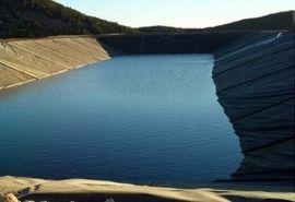 بزرگترین استخر ذخیره آب کشاورزی شهرستان ارومیه آماده بهره برداری است