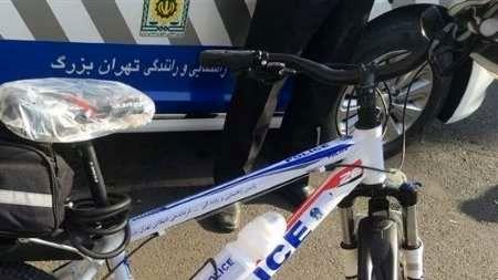 آغاز به کار گروهان پلیس دوچرخهسوار در پایتخت