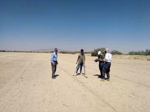 اراضی کشاورزی پایاب سد درودزن در خرامه تسطیح شد