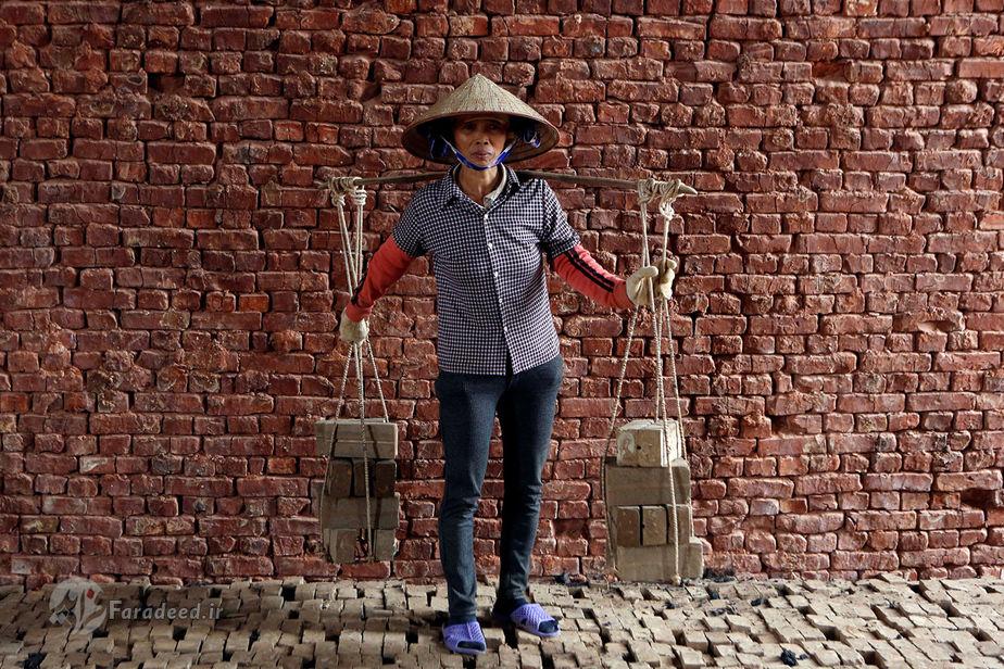 پانگ تای های، 54 ساله، کارگر کارخانه، ویتنام