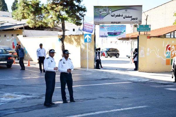 17هزار گشت پلیس امنیت دانشآموزان را تامین میکند