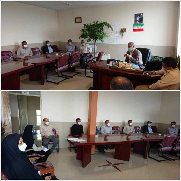 جلسه یاوران تولید با محوریت محصول کلزا در آبیک برگزار شد
