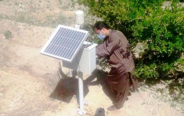 نصب 5 دستگاه دیتالاگر در مناطق کشاورزی سیستان و بلوچستان