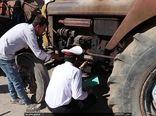 پلاک گذاری 1200  دستگاه تراکتور در شیراز
