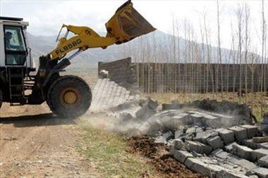 آزادسازی ۴هکتار از اراضی کشاورزی اسلامشهر