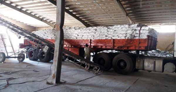 توزیع 322 تن کود سولفات پتاسیم در چهارمحال و بختیاری