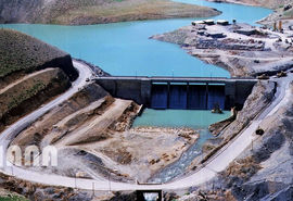 سد چشمه لنگان ، فریدونشهر