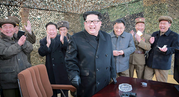 کاهش تمرینات نظامی کره شمالی