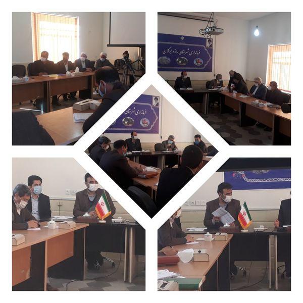 جلسه توسعه و ارتقا ء زنجیره نوغانداری در شهرستان راز و جرگلان برگزار شد