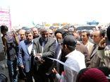 افتتاح مزرعه پرورش میگو توسط وزیر جهاد کشاورزی در ساحل سیریک استان هرمزگان