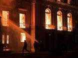 آتشسوزی در موزه ملی برزیل