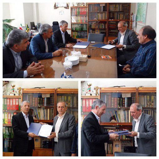امضای تفاهم نامه همکاری سازمان جهاد کشاورزی آذربایجان شرقی با سازمان نظام مهندسی کشاورزی و منابع طبیعی این استان