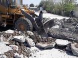 سه باغ رستوران و باغ تالار شهرستان اسلامشهر تخریب شد