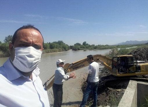 ساماندهی وضعیت ایستگاههای پمپاژ اراضی کشاورزی بخش منجوان شهرستان خداآفرین