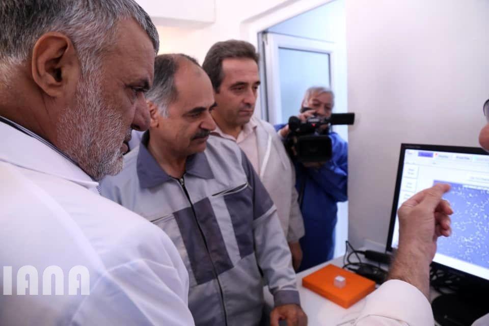 افتتاح مرکز تولید مواد ژنی دام سبک توسط دکتر جهانگیری در فیروزکوه