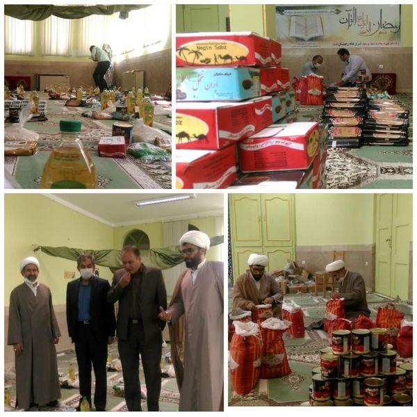 توزیع ۹۰ بسته غذایی و حمایتی سازمان جهادکشاورزی در هفته اکرام