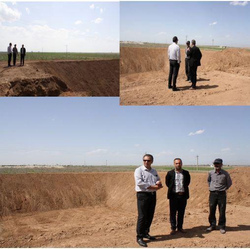 فاز یک پروژه آبرسانی هوشمند ایستگاه تحقیقات پسته یزبر قزوین تکمیل شد