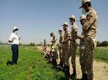 برگزاری دوره آموزشی کشت و پرورش گیاهان داروئی ویژه سربازان وظیفه