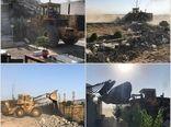 ۷ مورد ساخت و ساز غیر مجاز در قزوین قلع و قمع شد