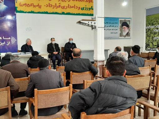 برگزاری جلسه توجیهی و هماهنگی کشاورزی قراردادی در سازمان تعاون روستائی استان
