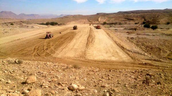 اجرای عملیات خاکی سد شرفویه لارستان