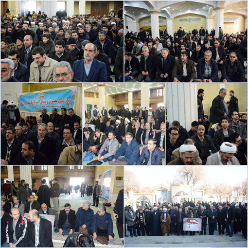 راهپیمایی 8 دی مردم تبریز در ایجاد فضای پرشور انقلابی برای کل کشور موثر واقع شد