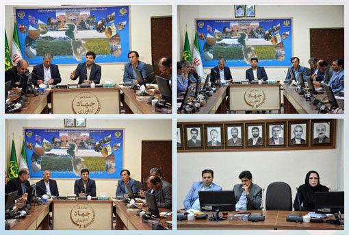 اجرای پروژه های بخش کشاورزی بر پایه اجرای مناسب نظام بهره برداری از منابع آب و خاک استوار است
