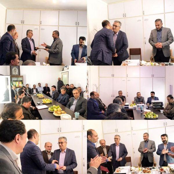 مدیر آب و خاک و امور فنی و مهندسی سازمان جهادکشاورزی استان گلستان معرفی شد