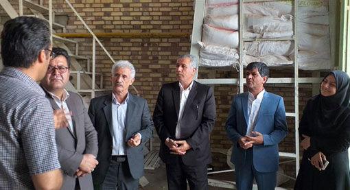 راه اندازی مجدد خط تولید خوراک دام شرکت تعاونی روستایی امند شهرستان شبستر
