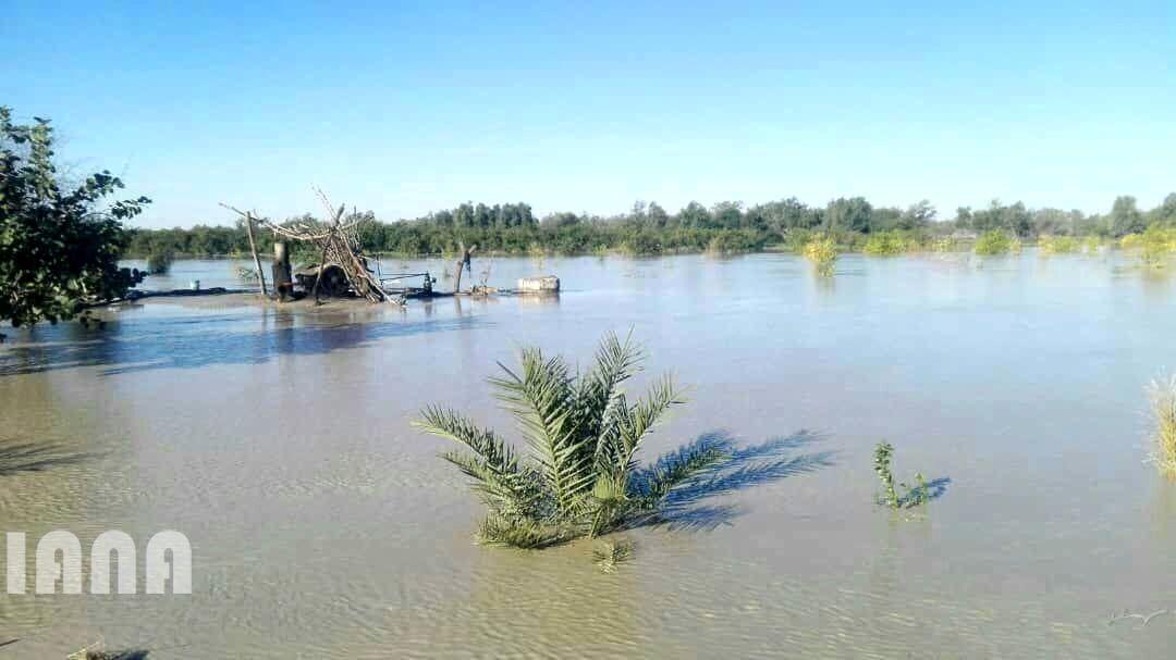 خسارت سیل به بخش کشاورزی استان سیستان و بلوچستان 2
