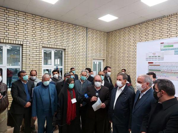 بازدید از طرح آبرسانی 46 هزار هکتاری دشت سیستان
