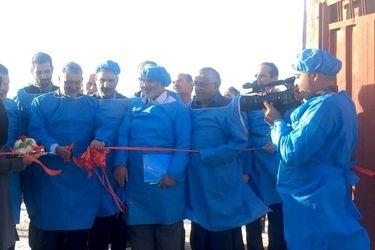 بازدید و افتتاح پروژه های بخش کشاورزی استان یزد