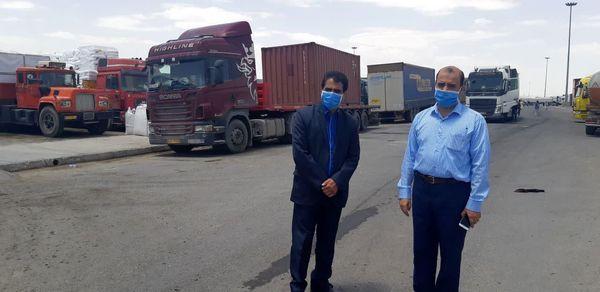 بازدید رئیس اداره روابط عمومی سازمان از قرنطینه گیاهی مرز دوغارون