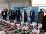 توزیع ۱۵۰ بسته معیشتی بین نیازمندان در طرح سردار سلیمانی