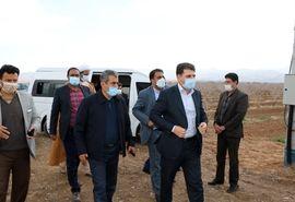 طرح آبیاری تحت فشار در سطح ۶۰ هکتار در منطقه چترود شهرستان کرمان افتتاح شد