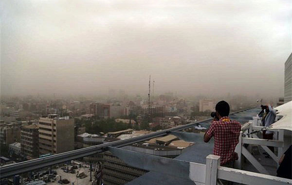 تهران امروز وزش شدید باد دارد
