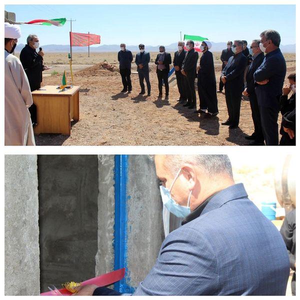 افتتاح همزمان 18 پروژه بخش کشاورزی شهرستان طبس در هفته دولت