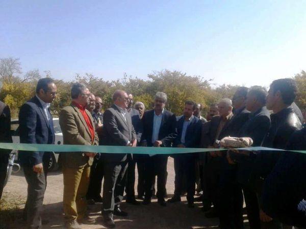 افتتاح همزمان 130 پروژه سیستم های نوین آبیاری در استان یزد