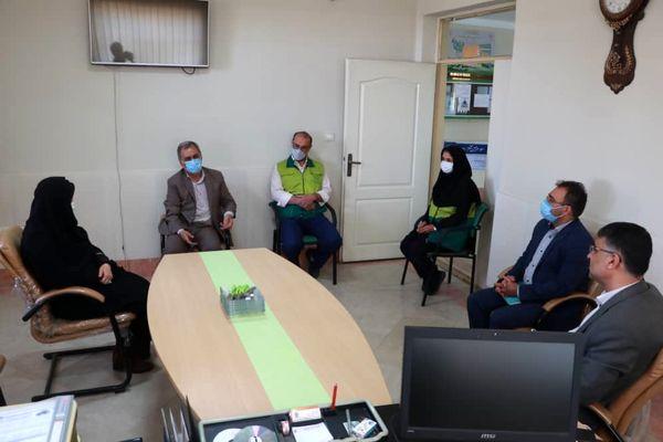 بازدید رییس سازمان جهاد کشاورزی استان قزوین از مرکز کوهپایه شرقی 