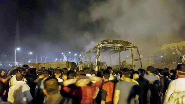 مجروحان حادثهی سنندج به بیمارستانهای عمومی منتقل شدند