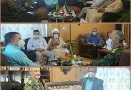 دیدار و نشست صمیمی فرمانده یگان ویژه خراسان شمالی با رئیس سازمان جهاد کشاورزی