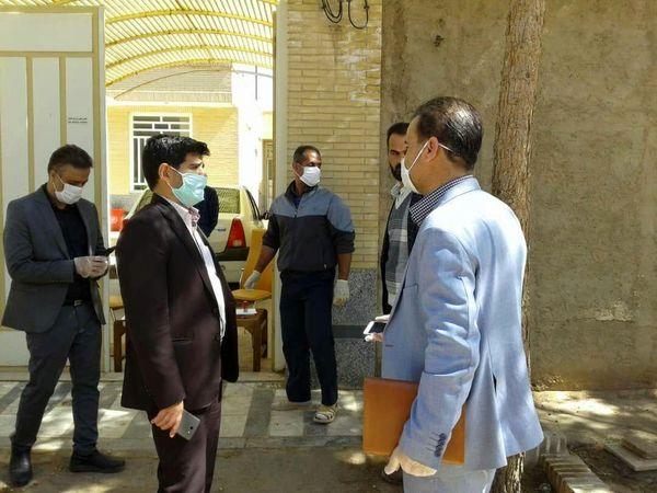 طرح غربالگری و پایش سلامت اتباع خارجی  واحدهای کشاورزی در شهرستان اشکذر