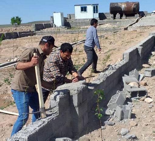 اجرای ۱۱ مورد قلع و قمع و آزادسازی اراضی کشاورزی در مراغه