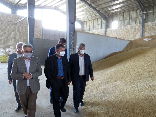 بازدید رییس سازمان جهاد کشاورزی خراسان شمالی از کارخانه خوراک دام بجنورد