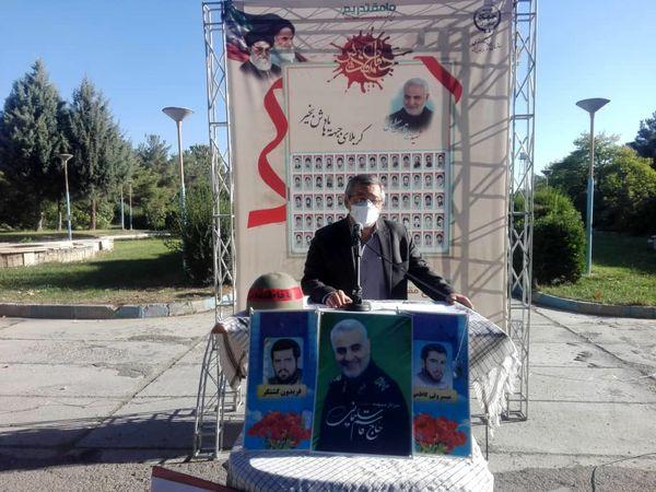 مراسم گرامیداشت هفته دفاع مقدس در جهاد کشاورزی آذربایجان غربی برگزار شد